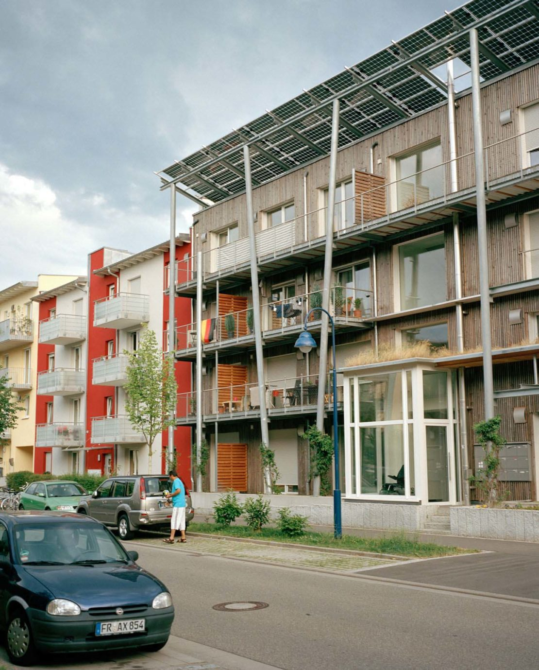 Housing in Rieselfeld