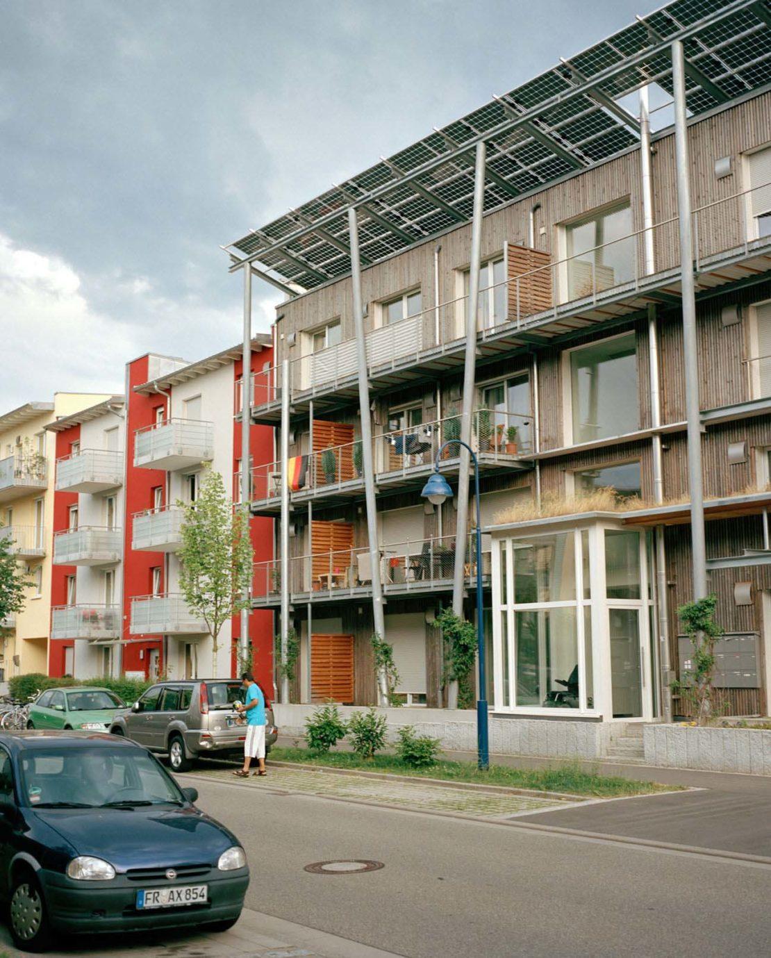 Housing in Rieselfeld