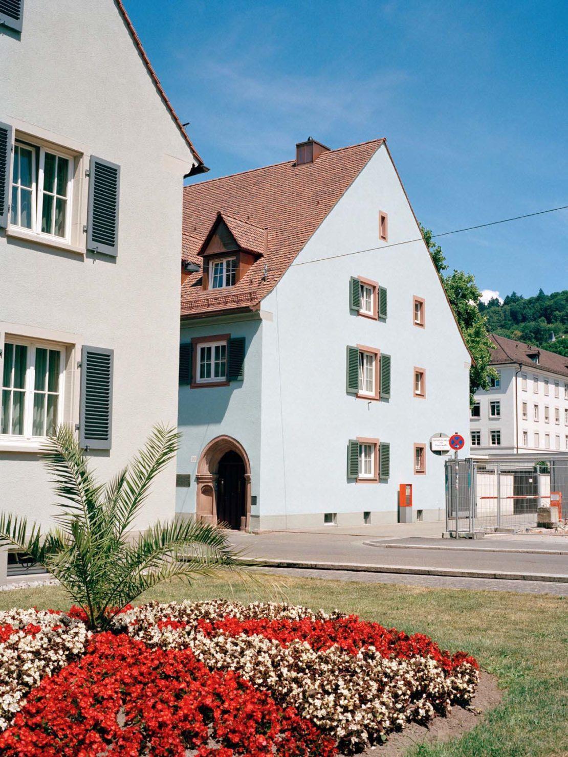 Freiburg's old city