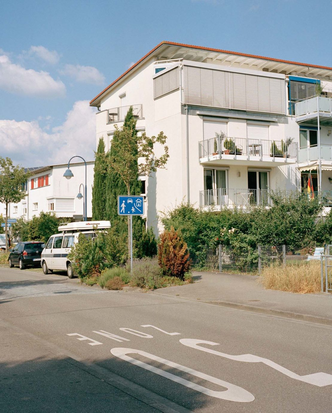 Freiburg street scene