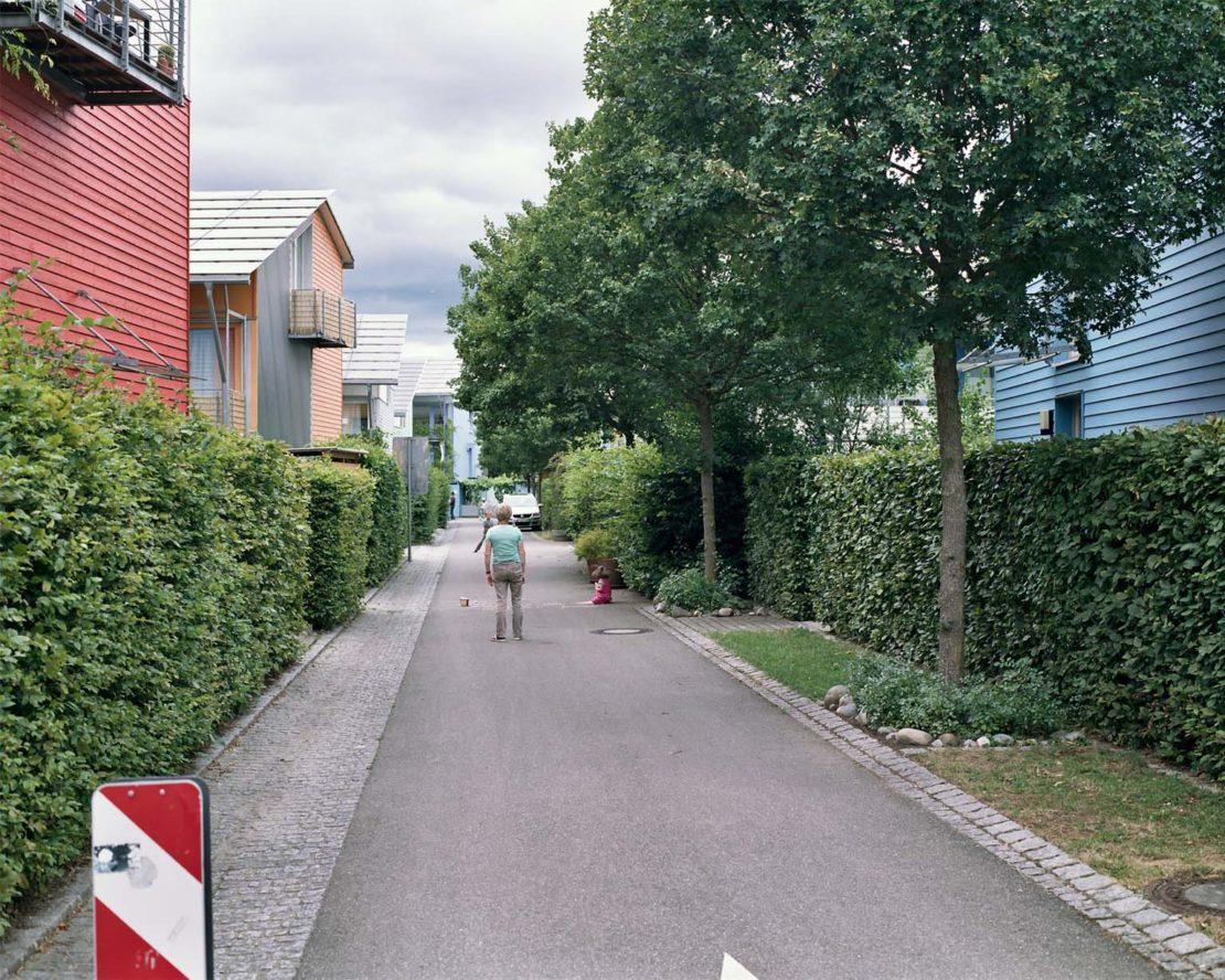 A Vauban neighbourhood scene