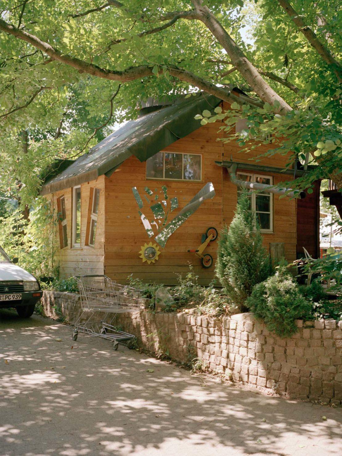 An eco-friendly Vauban house