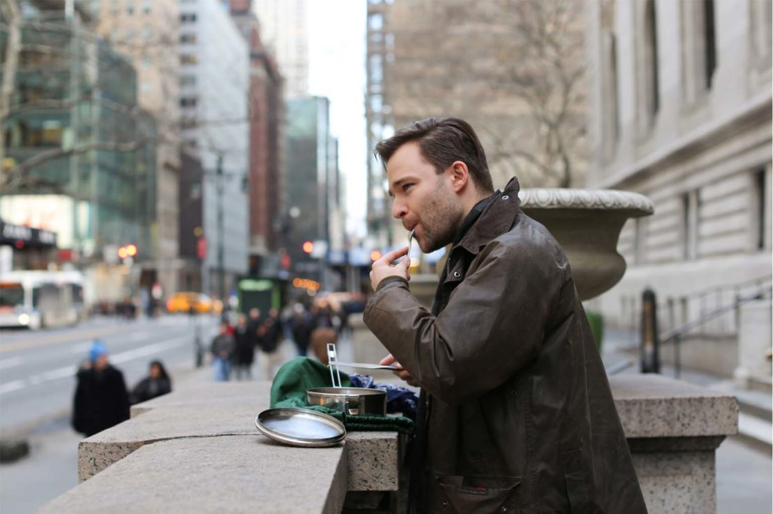 Matthew Zadrozny, pictured by the photoblog Humans of New York