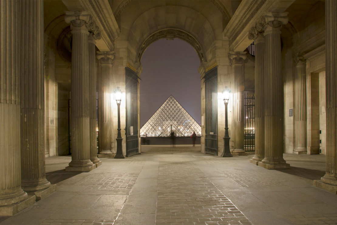 Louvre Museum in the 1st arrondissement