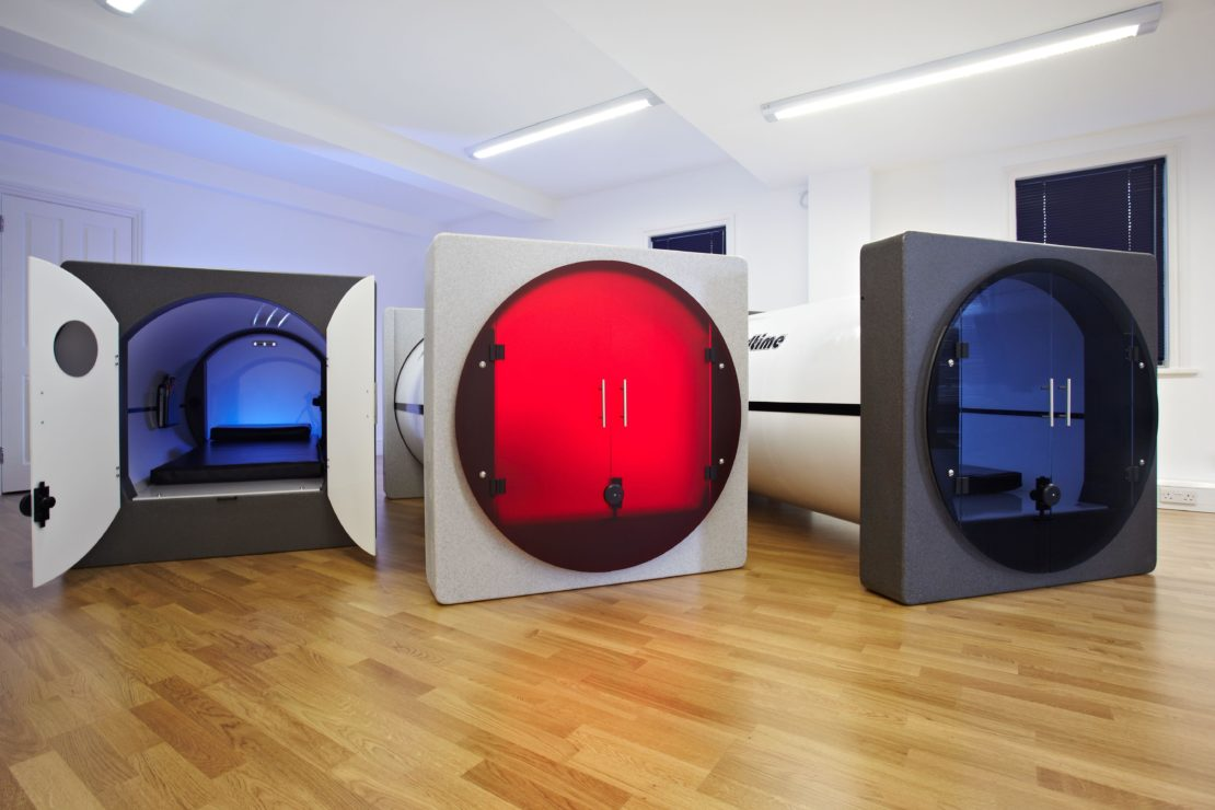 Podtime's space-age sleep pods