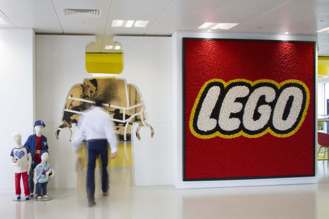 Hot Desks: Inside LEGOu0027s Imaginative London Office
