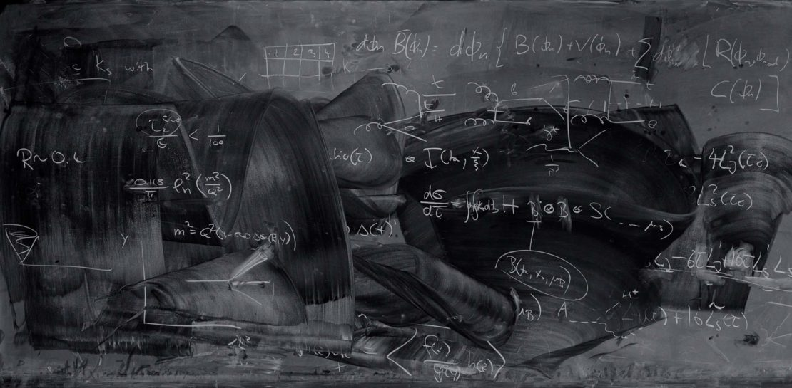 Beauty In The Blackboard Jumble