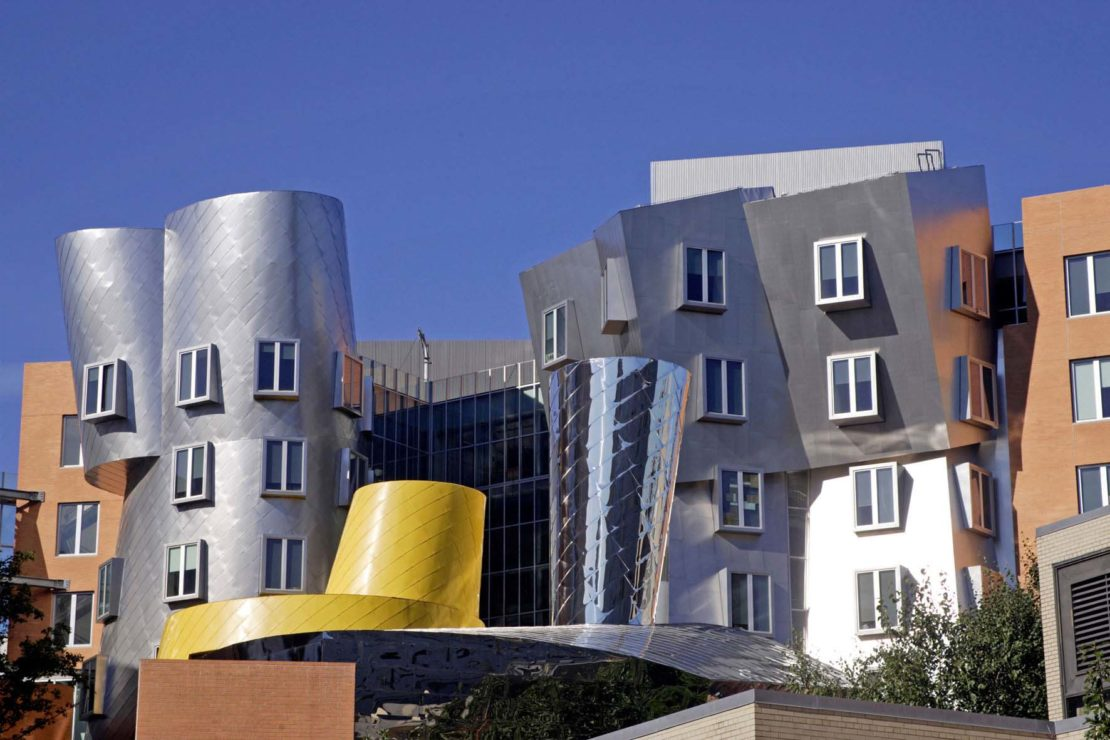 Frank Gehry's Stata Center, Cambridge, Massachusetts