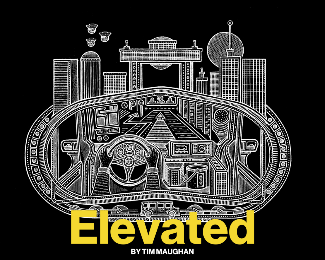 Elevated, by Tim Maughan