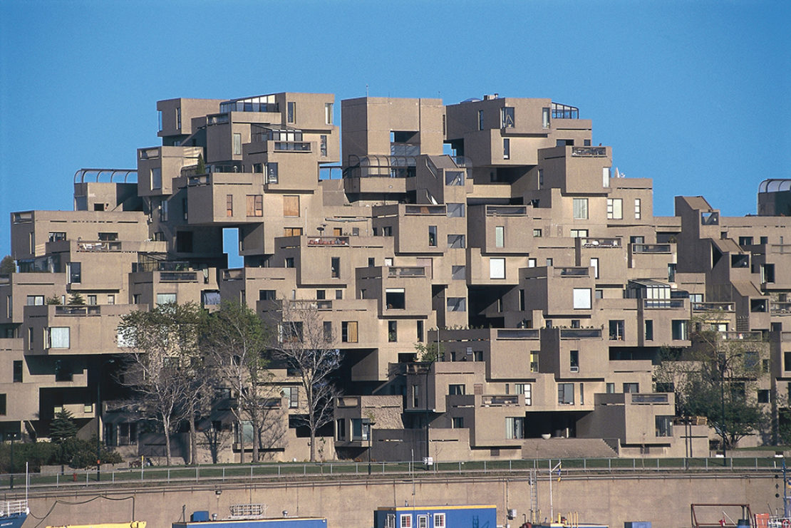 67 Habitat Complex, built for Expo 67