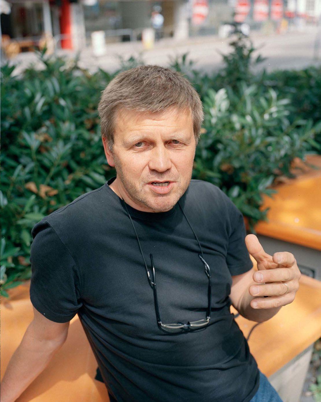 Local Freiburg architect Meinhard Hansen
