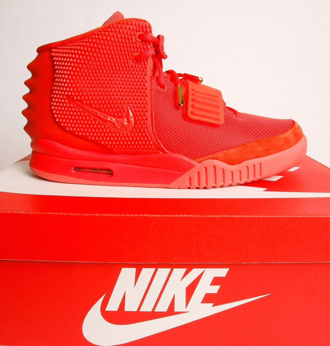 Nike's 'Yeezy' Red October trainer designed with Kanye West