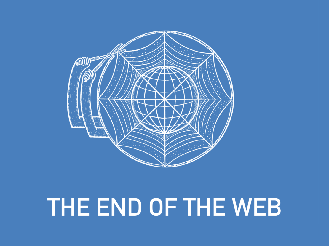 The end of the web