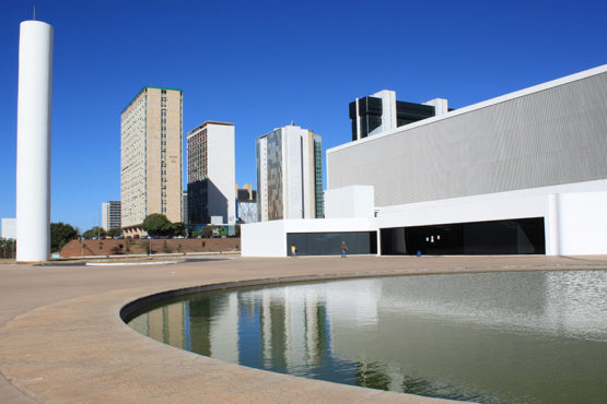 National Library in Brasilia